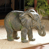 Weathered Elephant Statue