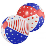 Patriotic Beach Ball Set Of 2