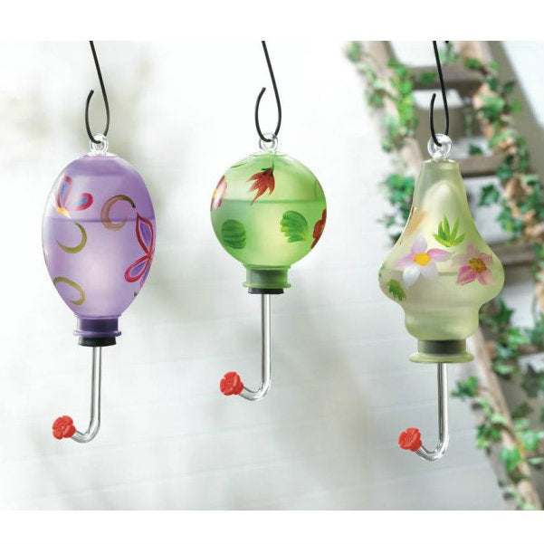 Purple Butterfly Hummingbird Feeder