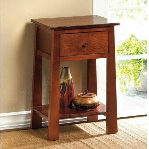 Contemporary Craftsman Accent Table
