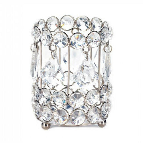 Crystal Drop Candleholder
