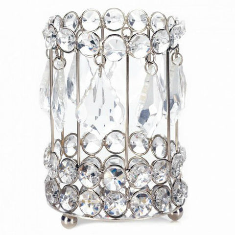 Large Crystal Drop Candleholder