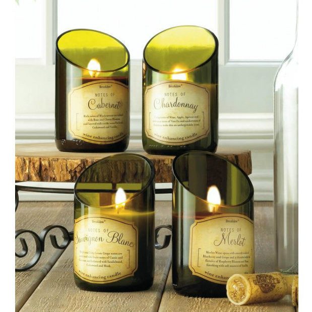 Wine Bottle Sauvignon Blanc Scent Candle