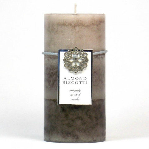 Almond Biscotti Pillar Candle 3X6