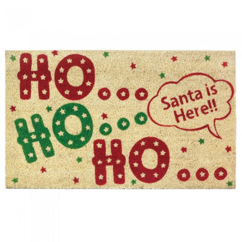 Ho Ho Ho Welcome Mat