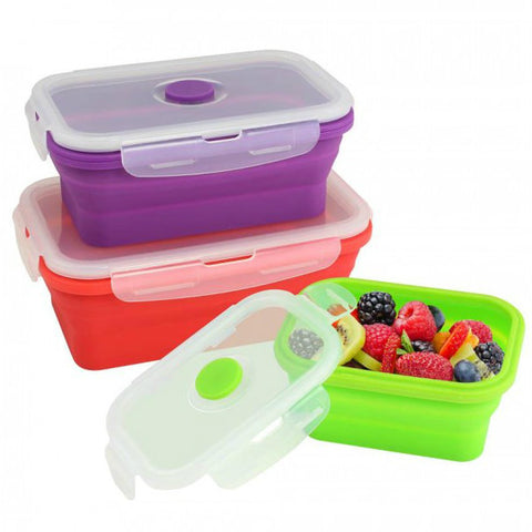Silicone Stacker Food Container Set Of 3