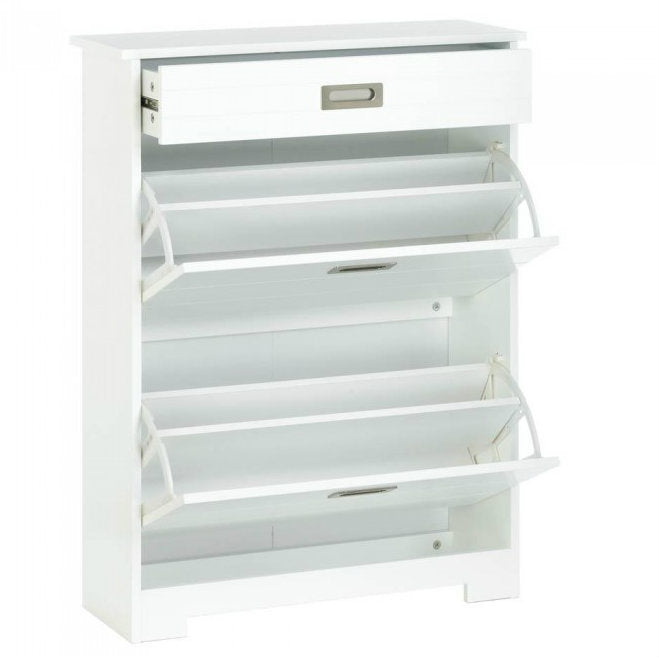2 Tier Shoe Rack With Drawer