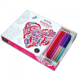Energy Adult Coloring Book With Pencils