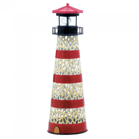 Metal Solar Lighthouse