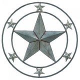Galvanized Star Wall Décor