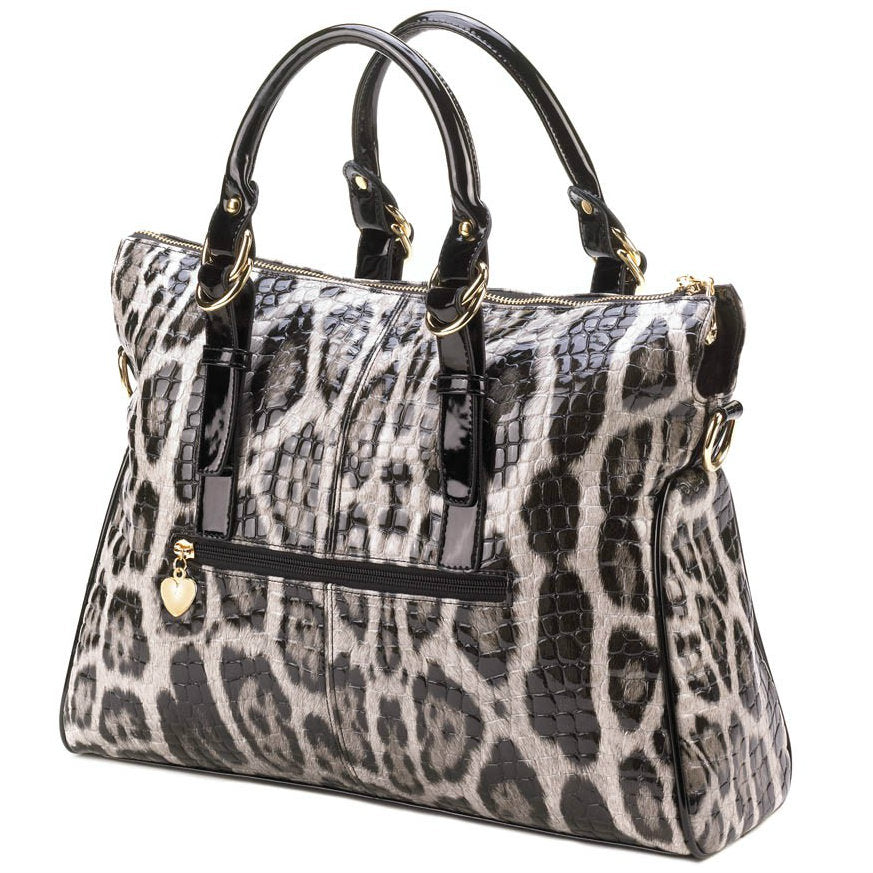 High Fashion Snake Skin Tote Bag