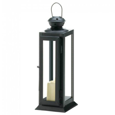 Sleek And Lean Star Cutout Lantern