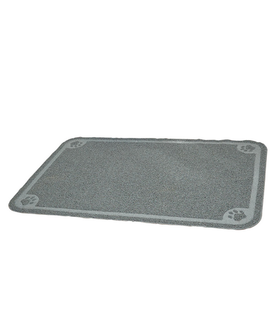 Jumbo Size Pet Cat Litter Paw Print Mat