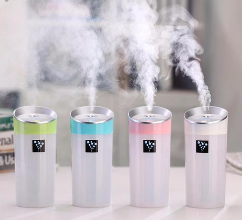 300ML Ultrasonic Humidifier USB Mini Oil Diffuser Aromatherapy Mist Maker