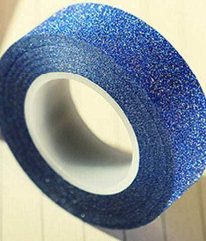 5M DIY Self-adhesive Glitter Tape Sticker Wedding Birthday Festival Decoration