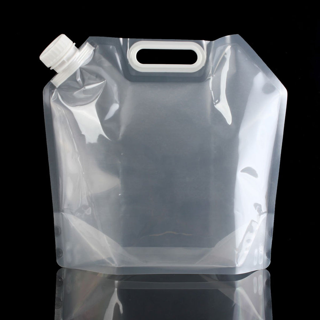 5L 10L Outdoor Camping Hiking Lightweight Collapsible Water Bag Folding Drinking Water Storage Bags