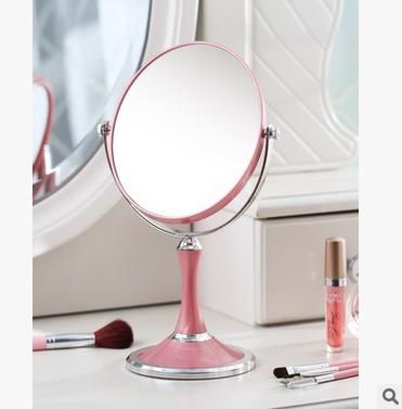 European Style Princess Makeup Mirror With Zoom Lens