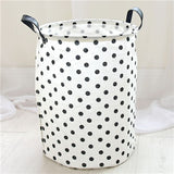 Folding Storage Laundry Basket Clothes Storage Bag Organizer