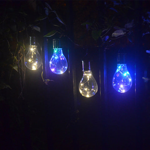 Outdoor Solar Power LED Bulb Garden Light