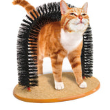 Arched Brushes Self Grooming and Massaging Cat Toy Brush Scratching Devices