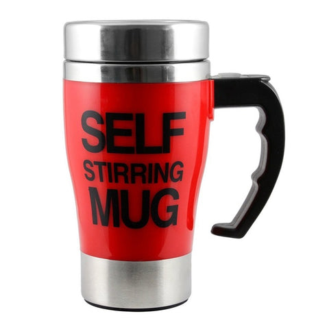 Stainless Steel Automatic Mixing Cups Self Stirring Coffee Mugs