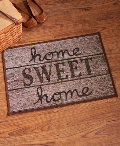Home Sweet Home Kitchen Floor Rug And Decor