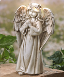 Solar Powered LED Heavenly Praying Garden Angel