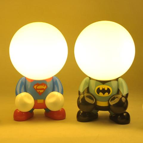 Superhero Night Lamp