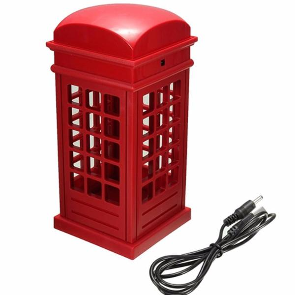 London Telephone Booth Night Lamp