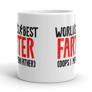 World's best Farter Father Gift Mug