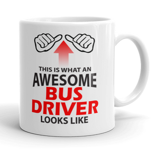 Awesome Bus Driver Gift Mug