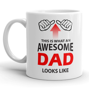 Awesome Dad Gift Mug