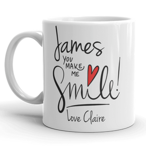 You Make Me Smile Gift Mug