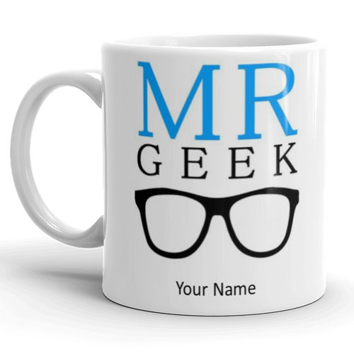 Mr Geek Personalised Gift Mug