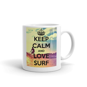 Keep Calm & Go Surf Gift Mug