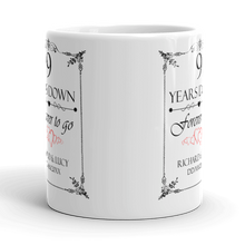 Personalised Wedding Anniversay Mug
