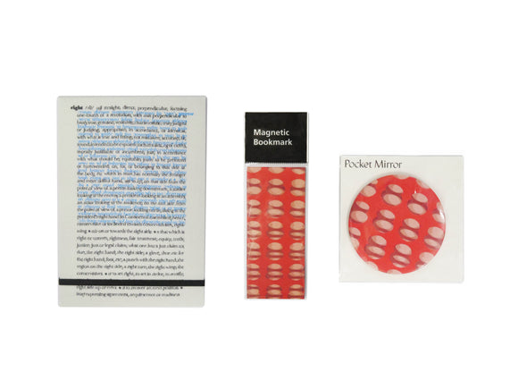 Cornelia Parker Bundle: Notepad, Mirror, Bookmark
