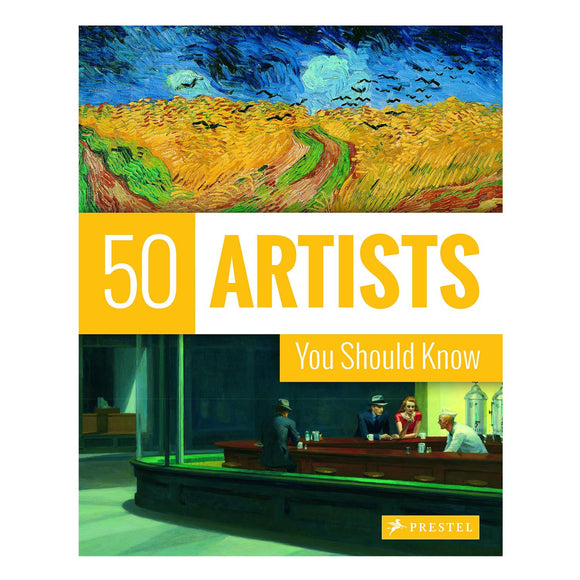 Book featuring cover art of 50 Artists You Should Know