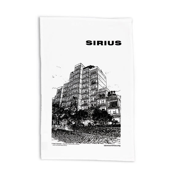 Tea Towel Sirius Building
