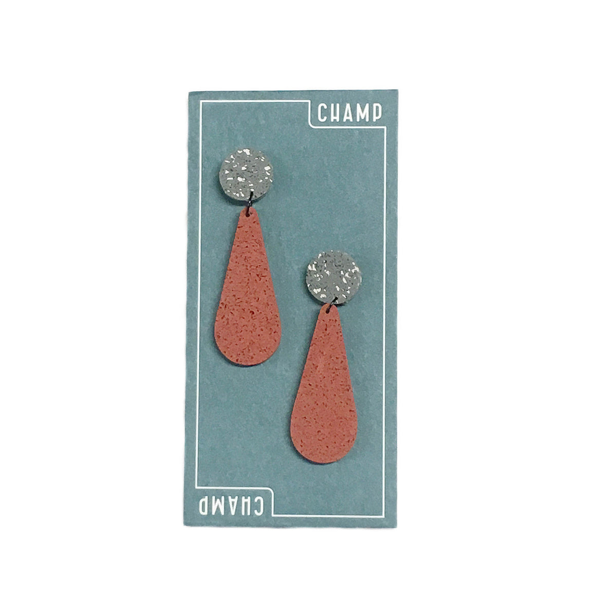 Earrings Exclamation - Stone & Terra