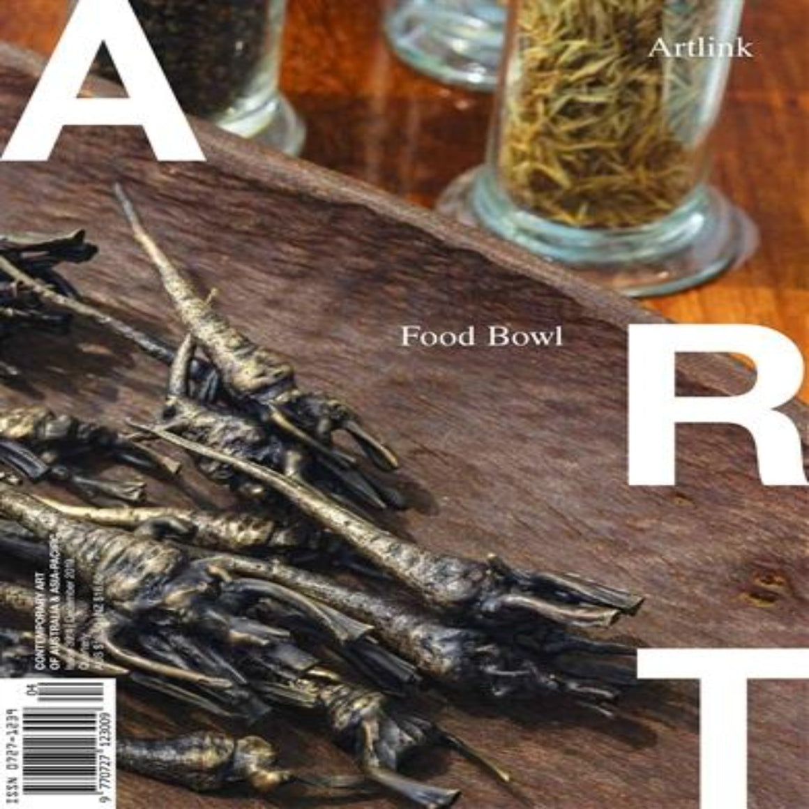 Magazine Cover featuring Issue 39:4 December 2019 Artlink Magazine