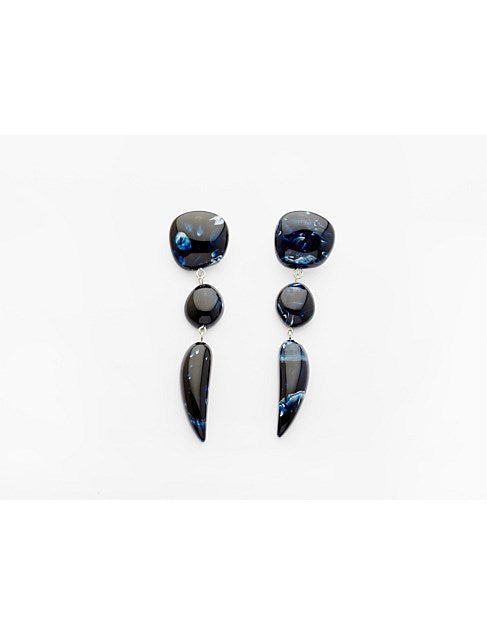 Earrings | Teagan | Blue