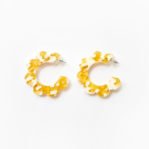 Earrings Maritza Yellow