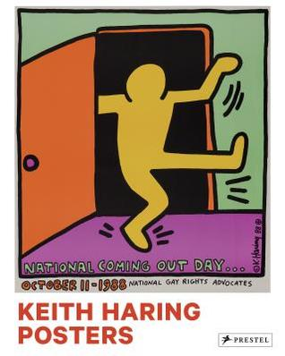Book featuring cover art of Keith Haring: Posters