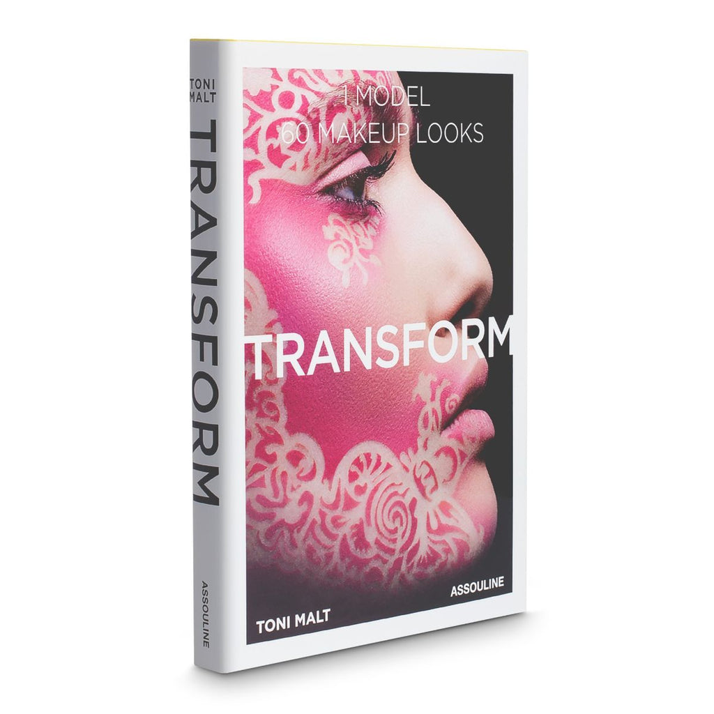 Book featuring the title Transform: 60 Makeup Looks