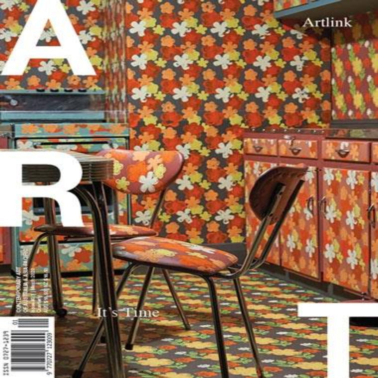 Magazine Cover featuring Issue 40:1 March 2020 Artlink Magazine