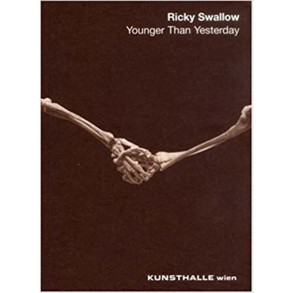 Book featuring cover art of Ricky Swallow: Younger Than Yesterday