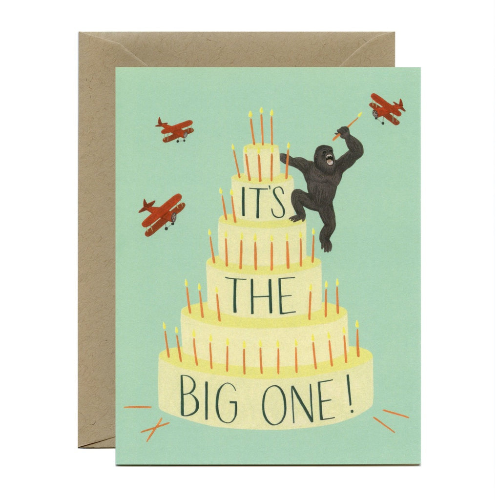 Greeting Card | King Kong Cake | Birthday