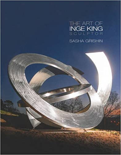 Book featuring cover art of The Art of Inge King Sculpture