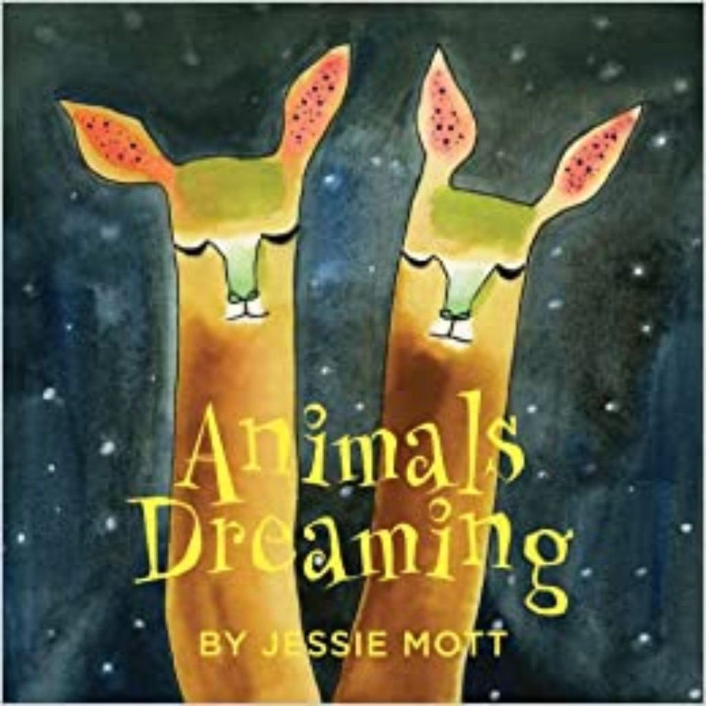 Book featuring cover art of Animals Dreaming
